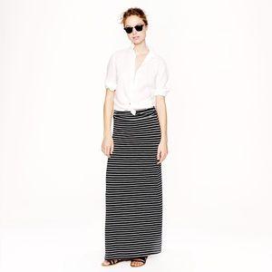 J. Crew knit maxi skirt