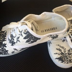 Forever 21 Shoes - Floral shoes