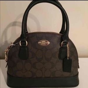 Nwt 100% authentic coach MINI CORA DOMED SATCHEL