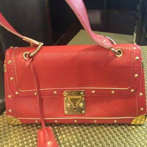 Louis Vuitton Suhali Leather Handbag