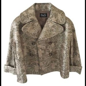 D&G Jackets & Blazers - Jacket/pea coat, NWOT.