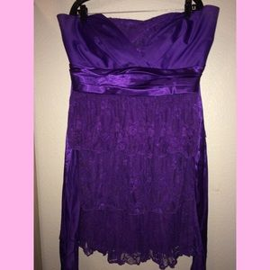 Purple lace Torrid plus size dress