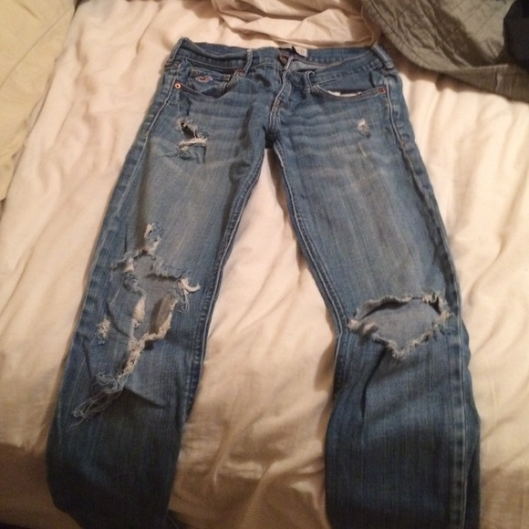50% off Hollister Denim - Hollister ripped jeans size 0 ...