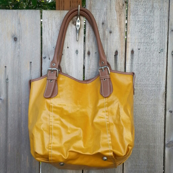 69 off boden handbags coated canvas bag from boden from for Boden yellow bag