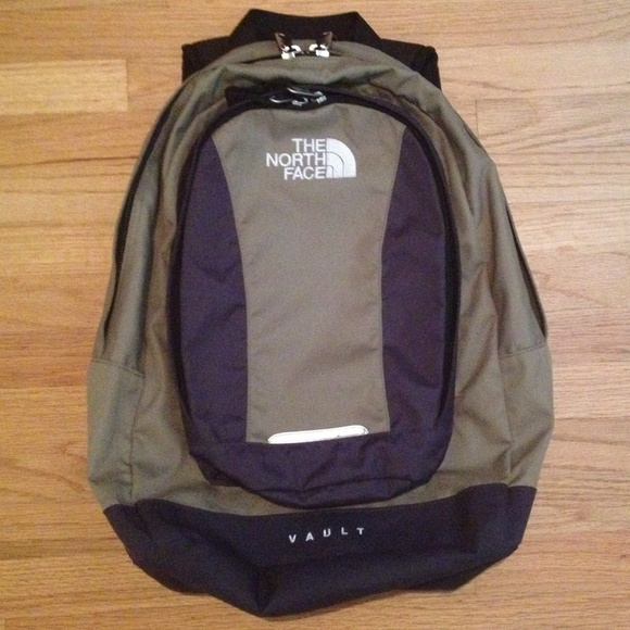 fc138145105 The North Face Bags   Vault Backpack Unisex Green Gray   Poshmark