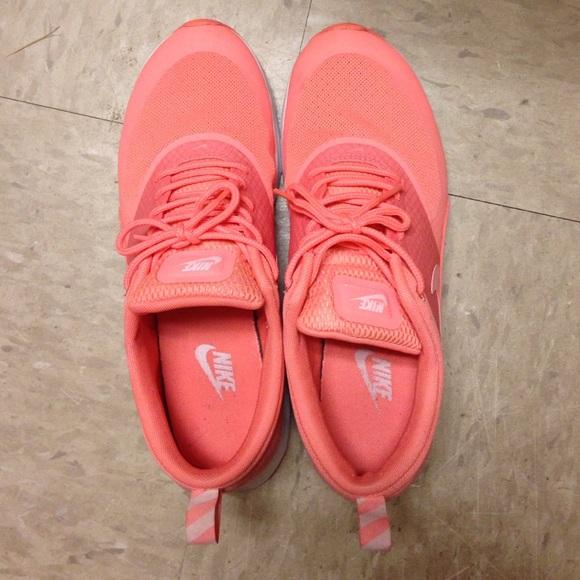 Peach Nikes
