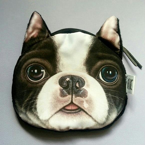 Accessories - Boston Terrier Change Purse! Dog cosmetic bag 75824bdc4