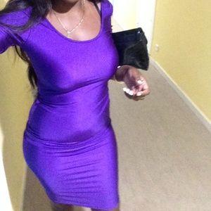 Purple Club Dresses