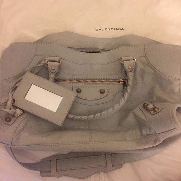 2185746ef939 Balenciaga Handbags - Balenciaga Giant 12 Part Time Leather Satchel