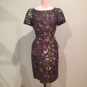 J. Crew Dresses & Skirts - J.Crew floral pinched waist dress