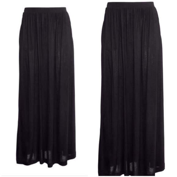 h m h m maxi skirt from viv s closet on poshmark