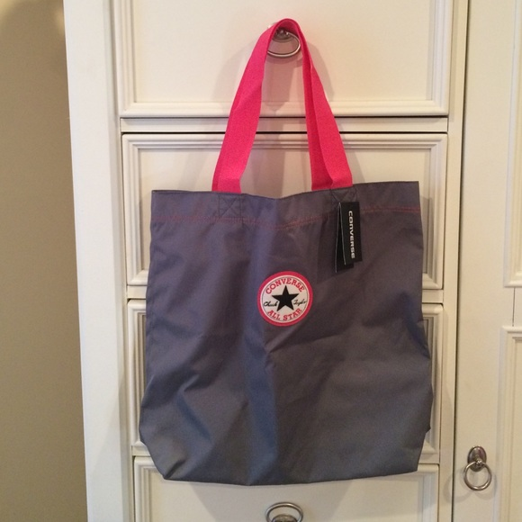 252483bed8 Converse Bag-Pink   Grey-NEW   AUTHENTIC.
