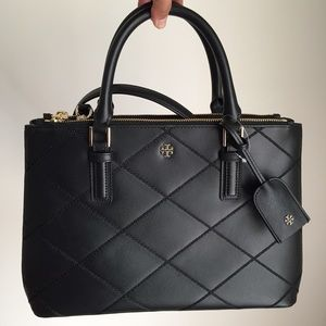 Tory Burch Double Zip Tote Bag