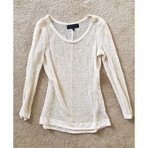 rag & bone open knit sweater