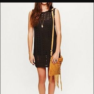 Free People Beach Crochet Dress reduced