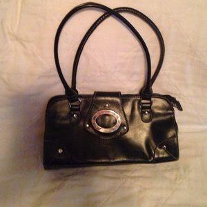 Black purse no brand name