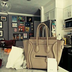celine yellow luggage tote - Celine Handbags on Poshmark