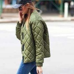Get the look!! J crew quilted jacket