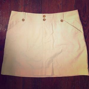Lilly Pulitzer corduroy skirt