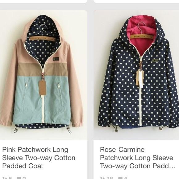 182bb1cf7f Reversible rain jacket NWT