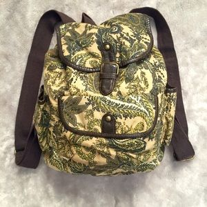 Handbags - Small Paisley Backpack