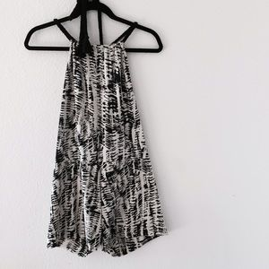 Filthy Mouth Clothing  Dresses & Skirts - Filthy Mouth Clothing B&W Halter Romper ❤️
