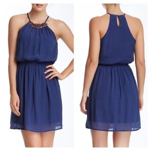 Dresses & Skirts - 👗FINAL PRICE👗Juniors' Gauze Necklace Dress Large