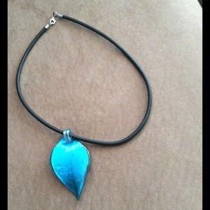 Venetian glass Jewelry - Venetian glass pendant
