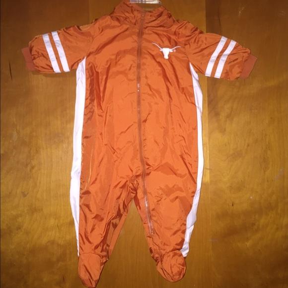 Starter - Infant texas longhorns windbreaker onesie baby from ...