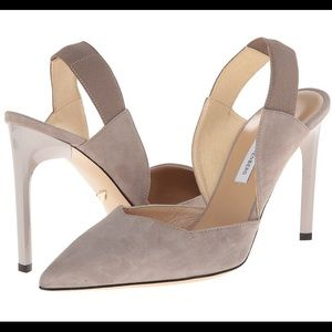 DVF Blaire taupe heels