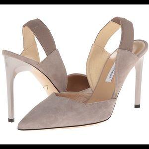 Diane von Furstenberg Shoes - DVF Blaire taupe heels