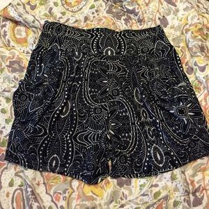 Womens Printed shorts size s/m