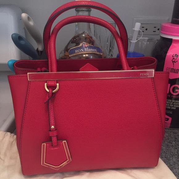 FENDI Bags   Petite 2jours Handbag   Poshmark 9b20c0773e