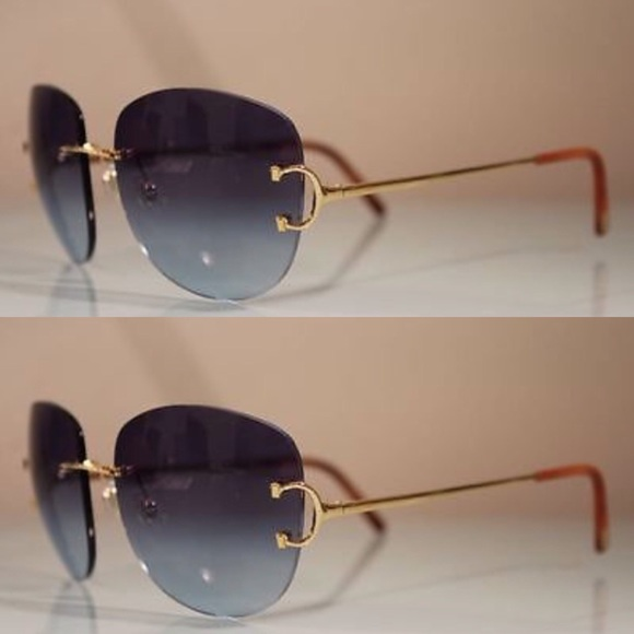 Cartier Other | Rimless And Wood Frames | Poshmark