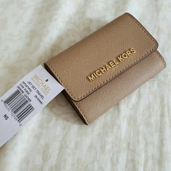 9bf353a89377 Michael Kors Bags | Jet Set Saffiano Coin Purse Key Pouch | Poshmark