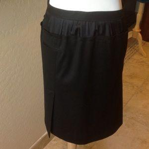 Robert Rodriguez Dresses & Skirts - robert rodriguez Gorgeous Black Viscose Slit Skirt