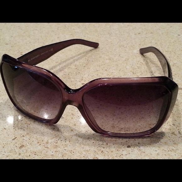 b1b39b9008d9 Burberry Accessories - Purple authentic Burberry sunglasses