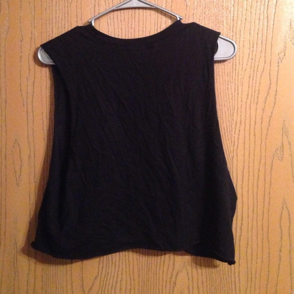 75 off forever 21 tops pizza crop top from gabbi 39 s closet on poshmark. Black Bedroom Furniture Sets. Home Design Ideas