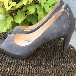 Stunning Cole Haan peep toe pumps