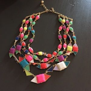 Colorful Kate spade necklace