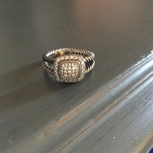 David yurman pave ring