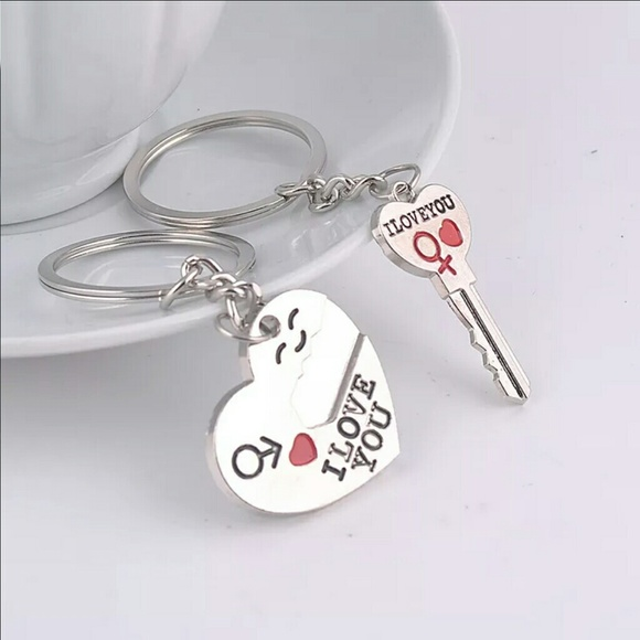d53de333b6 Chenyi Jewelry Accessories   Couples Key To My Heart Matching ...
