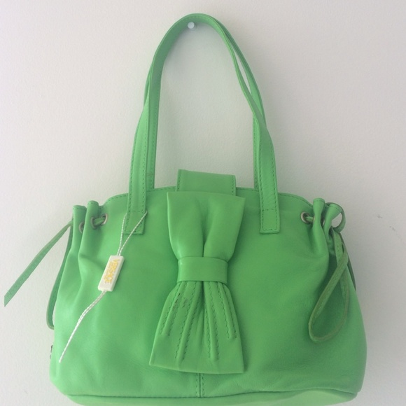 Versace Bags   Jeans Couture Green Tote Bag   Poshmark 1e0d3e29ba