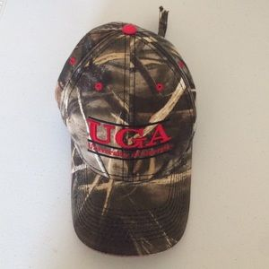 Accessories - UGA camo baseball cap