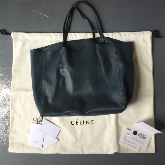f17b92088c5b Celine Handbags - Celine lambskin leather Cabas tote bag