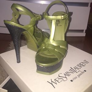 Authentic Yves Saint Laurent  tribute sandals