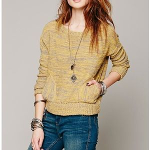 FREE PEOPLE IN MY POCKET SWEATER