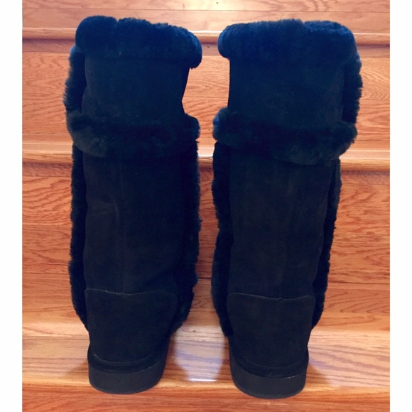 Michael Kors Boots With Fur Sheep Fur Lined Michael Kors