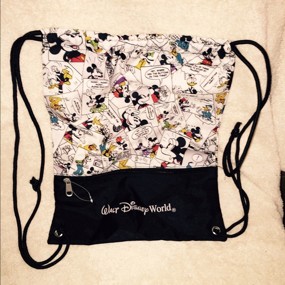 f4bc45f62d9 Disney Handbags - Mickey Mouse Drawstring Backpack