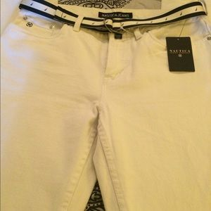 Náutica white Jean new with tag